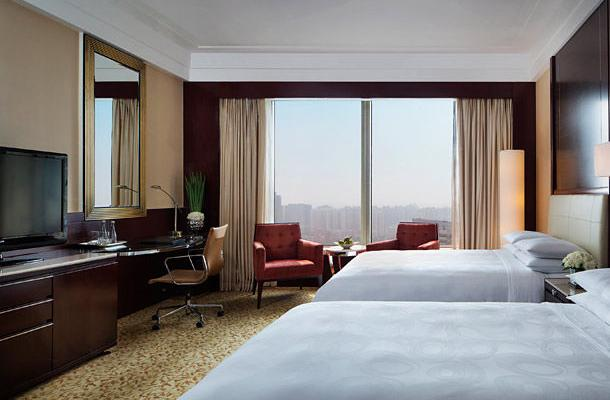фото отеля Shanghai Marriott Hotel Changfeng Park изображение №5
