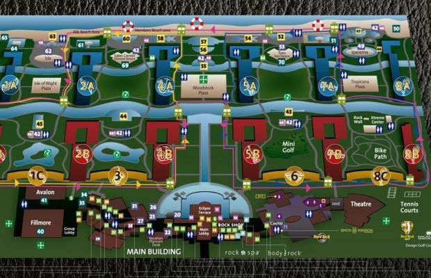 фотографии отеля Hard Rock Cafe & Casino Resort (ex. Moon Palace) изображение №3