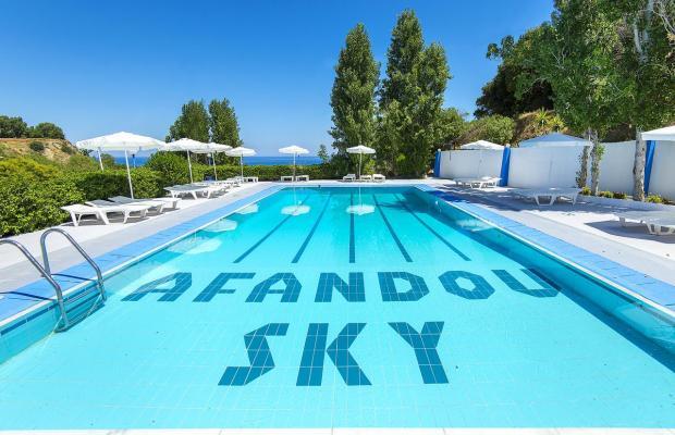 фотографии Afandou Sky Hotel изображение №16
